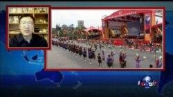 VOA连线:台湾纪念中华民国成立104年双十庆典