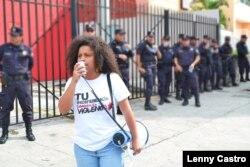 Wendy Lisseth Morales Gálvez, activista salvadoreña.