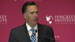 Romney Rakes Trump as Party Rift Widens
