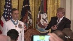 Navy SEAL Team 6 Member Awarded US Medal of Honor