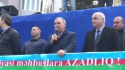 Milli Şuranın sədri Cəmil Həsənli çıxış edib