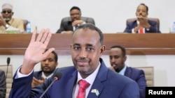 FILE - Somalia's Prime Minister Mohamed Hussein Roble.
