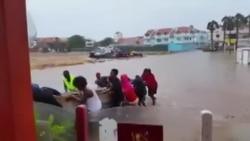 Furacão Fred em Cabo Verde: Ilha do Sal