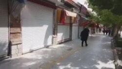 اعتصاب سراسری بازاریان در ایران - ویدئو از شهر سنندج