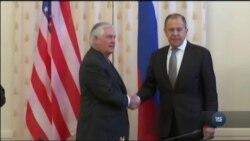 Перестороги щодо ухваленого законопроекту по розширенню російських санкцій і позиція щодо підтримки України Тіллерсона. Відео