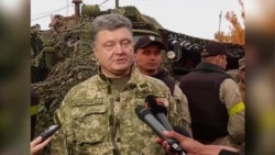 Ukraine's President Vows to Take Back East from Pro-Russia Rebels