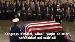 Amerika Jorj Bush bilan vidolashmoqda