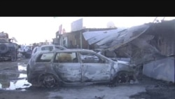 ساحه میدان هوایی کندهار بعد از رویداد مرگبار دیروز