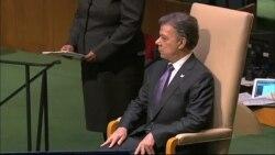 Santos y Humala hablan en la ONU