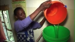Bộ lọc nước công nghệ nano cải thiện đời sống ở Tanzania