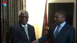 Nyusi e Dhlakama encontram-se em Maputo - II