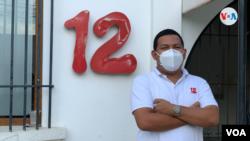 Carlos Jirón, camarógrafo y editor del Canal 12 de Nicaragua, agradeció a las personas que se han unido en apoyo a los trabajadores de la prensa.