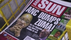 South Africa's Zuma Resigns to Avoid No-Confidence Vote