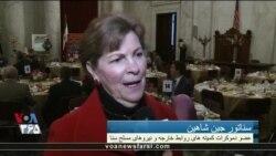 سناتور جین شاهین: کنگره خواستار اقدامات بیشتر علیه اقدامات بی ثبات کننده ایران هستیم
