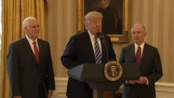Trump: 'Great Pride' to Say Attorney General Sessions