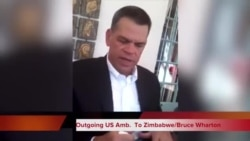 Ambassador Wharton: Future of Zimbabwe in Local People's Hands