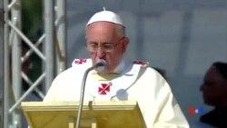 2014-06-22 美國之音視頻新聞: 教宗呼籲打擊黑手黨及販毒集團