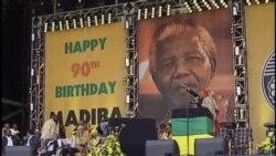 """南非总统:曼德拉目前状况""""非常好"""""""