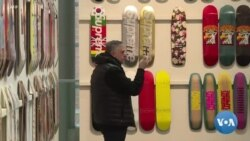 Une collection de skateboards vendue 800.000 dollars
