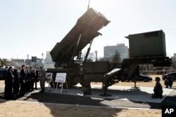 جاپان میں نصب امریکہ کا میزائل دفاعی نظام پیٹریاٹ،