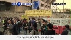Tòa án Hồng Kông ra lệnh cho người biểu tình rời khỏi trại (VOA60)