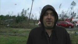 致命龙卷风和暴风雨袭卷美国