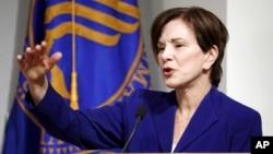 Dr. Janet Woodcock, penjabat komisaris FDA (Badan Pengawas Obat dan Makanan AS)
