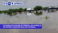 VOA60 Africa - Flooding in Somalia has displaced at least two hundred thousand people
