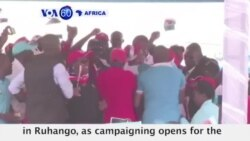 VOA60 Africa - Rwanda: Campaigning opens for the August 4th election