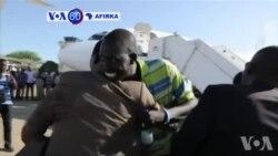 VOA60 AFIRKA: SOUTH OF SUDAN Magoya Baya Sama da Dari na Madugun 'Yan Tawaye Riek Machar Sun Isa Juba.