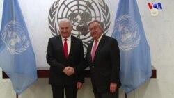 Başbakan Yıldırım - BM Genel Sekreteri Guterres Görüşmesi