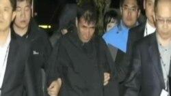 韓國警方逮捕失事渡輪船長