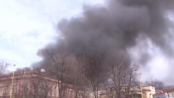 Požar na pijaci u Tuzli