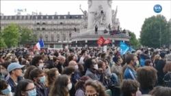 Fransa'da George Floyd'a Veda Gösterileri