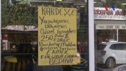 Vatandaşlardan Türk Lirasına Destek