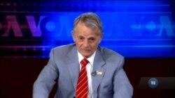 Джемілєв у прямому ефірі закликав Сенцова припинити голодування. Інтерв'ю