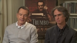 VOA Interview With Bryan Cranston, Jay Roach