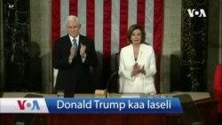 #Donald Trump, Ameriki Jamana Ɲɛma Binani Duru nan, ye 2020 Ameriki Jamanaw Farakan Kulu Laseli kɛ.