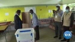 Le président Ouattara a voté à Abidjan