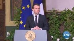 """""""Gilets jaunes"""": Macron """"déplore"""" les 11 morts"""