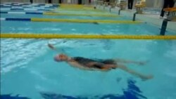 Japan 100 year old swimmer