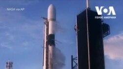 Компанія SpaceX у вівторок запустила ракету Falcon 9 із 60 супутниками. Відео