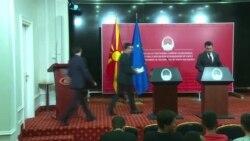 """На тоа прашање одбивам да одговорам: Премиерот Заев не ја коментира информацијата за """"форензичко бришење"""" на компјутерите во СЈО"""