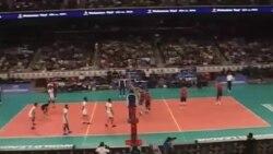 تیم ملی والیبال ایران مقابل آمریکا شکست خورد