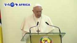 Mozambique: Papa Fransisiko Yifatanyije n'Abakozweho na za Serwakira