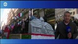 День Колумба в Нью-Йорке