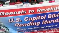 国会见闻:读圣经马拉松