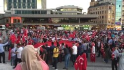 Protests in Taksim Square, Istanbul, Turkey