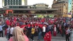 Protests in Taksim Square, Istanbul, Turkey
