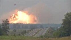Експлозии во воен магацин во Украина